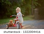 cute toddler child  boy ... | Shutterstock . vector #1322004416
