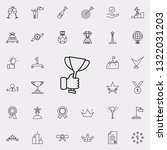 cup in hand icon. succes and... | Shutterstock .eps vector #1322031203