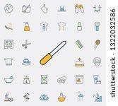 nailfile outline icon. spa...   Shutterstock .eps vector #1322032586
