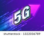 5g high speed internet...   Shutterstock .eps vector #1322036789
