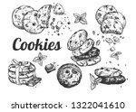 vector illustration of culinary ... | Shutterstock .eps vector #1322041610