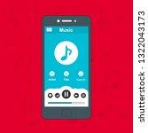 mobile music application user...