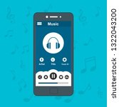mobile music application user...