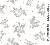seamless floral pattern with... | Shutterstock .eps vector #1322060630