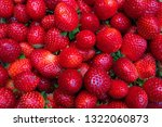 group of red strawberry... | Shutterstock . vector #1322060873