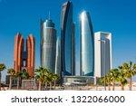 abu dhabi  united arab emirates ... | Shutterstock . vector #1322066000