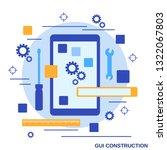 gui construction  application...