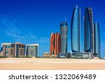 abu dhabi  united arab emirates ... | Shutterstock . vector #1322069489