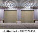 shutter door or roller door and ... | Shutterstock . vector #1322072330