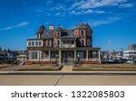 ocean grove  nj  usa  ... | Shutterstock . vector #1322085803