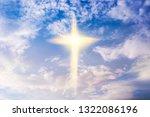 heavenly cross . religion...   Shutterstock . vector #1322086196