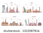 detailed architecture of abu... | Shutterstock . vector #1322087816
