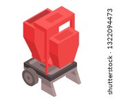 farm red machinery icon.... | Shutterstock .eps vector #1322094473