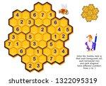 logic puzzle game for children... | Shutterstock .eps vector #1322095319