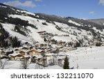 saalbach  austria   february 18 ... | Shutterstock . vector #132211070