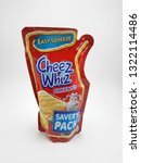 Small photo of MANILA, PH - FEB. 22: Cheez Whiz cheese pimiento squeeze pack on February 22, 2019 in Manila, Philippines.