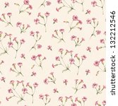 vintage seamless pattern with... | Shutterstock . vector #132212546