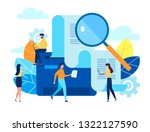 concept human resources ... | Shutterstock .eps vector #1322127590