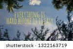 word for motivatonal concept... | Shutterstock . vector #1322163719