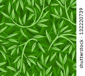 seamless pattern with willow... | Shutterstock .eps vector #132220739