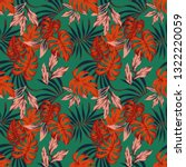 vivid abstract color tropical... | Shutterstock .eps vector #1322220059