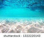 underwater blue sea scene with... | Shutterstock . vector #1322220143