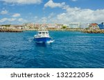 Fishing Boat Leaving A Harbour...