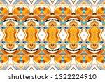 melting colorful symmetrical... | Shutterstock . vector #1322224910