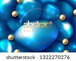 trendy fluid shape bright...   Shutterstock .eps vector #1322270276