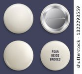 vector blank beige glossy...   Shutterstock .eps vector #1322293559