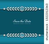 elegant diamond jewelry... | Shutterstock .eps vector #1322312363