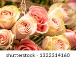 rose flowers for calendar and... | Shutterstock . vector #1322314160