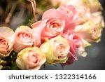rose flowers for calendar and... | Shutterstock . vector #1322314166