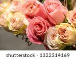 rose flowers for calendar and... | Shutterstock . vector #1322314169