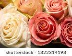 rose flowers for calendar and... | Shutterstock . vector #1322314193