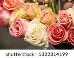 rose flowers for calendar and... | Shutterstock . vector #1322314199