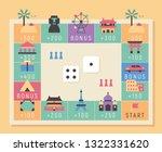 monopoly concept landmark icon... | Shutterstock .eps vector #1322331620