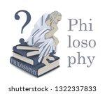 philosophy icon in vector....   Shutterstock .eps vector #1322337833