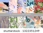 collection of seamless patterns.... | Shutterstock .eps vector #1322351249