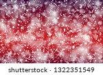 winter snowfall background....   Shutterstock .eps vector #1322351549