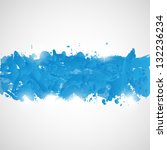 abstract background with blue... | Shutterstock .eps vector #132236234
