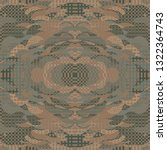 quirky tapestry pattern.... | Shutterstock .eps vector #1322364743