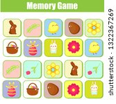 memory game for toddlers.... | Shutterstock .eps vector #1322367269