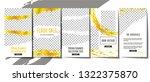 editable stories template... | Shutterstock .eps vector #1322375870