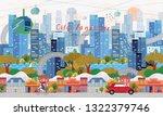 vector illustration of... | Shutterstock .eps vector #1322379746