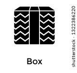 cardboards solid icon design ...   Shutterstock .eps vector #1322386220