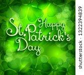 handdraw lettering for greeting ... | Shutterstock .eps vector #1322394839
