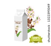 vegetarian paper pack of...   Shutterstock .eps vector #1322395049