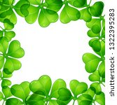 saint patricks day border...   Shutterstock .eps vector #1322395283