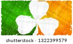 saint patricks day pattern with ... | Shutterstock .eps vector #1322399579